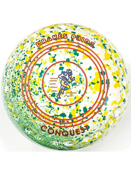CONQUEST SIZE 4H GRIP WHITE YELLOW GREEN S3 9429