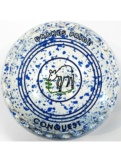 CONQUEST SIZE 2H GRIP WHITE SKY BLUE S3 9557