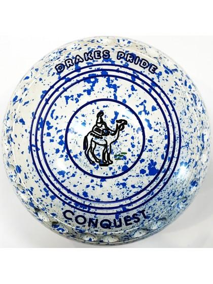 CONQUEST SIZE 3H GRIP WHITE SKY BLUE S4 9558