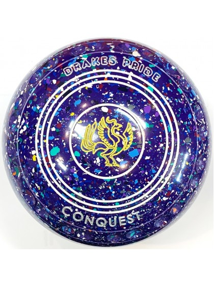 CONQUEST SIZE 4H GRIP PURPLE HARLEQUIN S5 9429