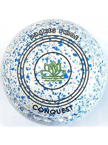 CONQUEST SIZE 3H GRIP WHITE SKY BLUE S1 0774