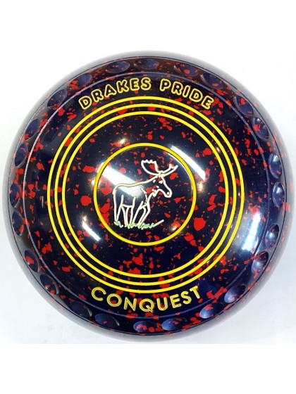CONQUEST SIZE 3H GRIP DARK BLUE RED S2 0774