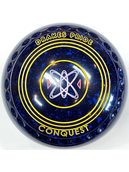 CONQUEST SIZE 000H GRIP BLUE SPECKLED S2 1085