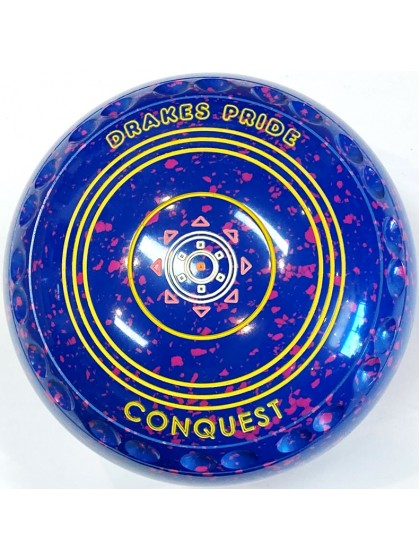 CONQUEST SIZE 2H GRIP BLUE PINK S2 1325