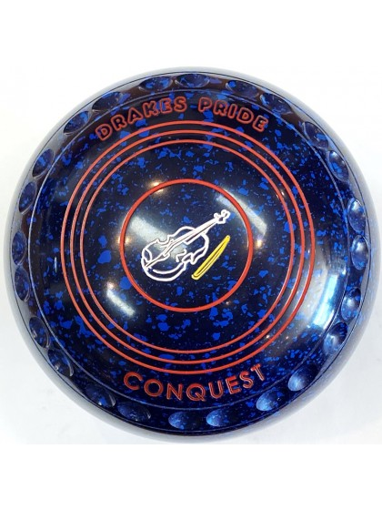 CONQUEST SIZE 4H GRIP BLUE SPECKLED S2 1327