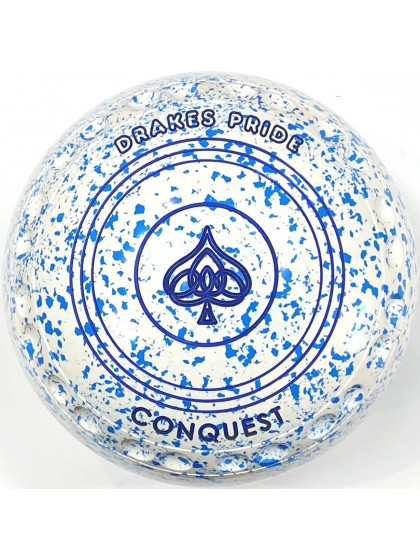 CONQUEST SIZE 4H GRIP WHITE SKY BLUE S3 0635