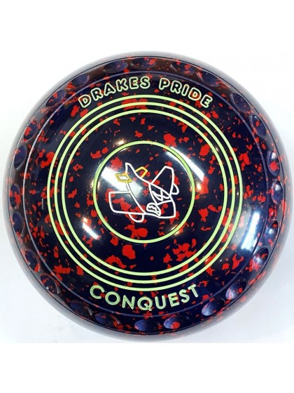 CONQUEST SIZE 3H GRIP DARK BLUE RED S3 0774