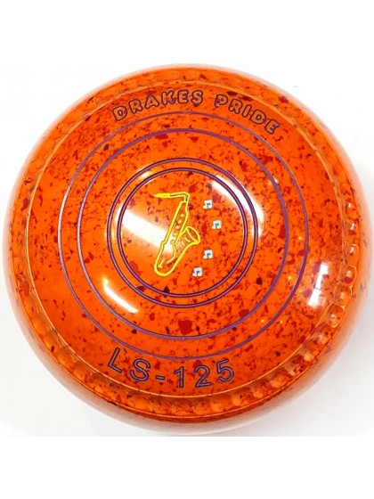 LS-125 SIZE 1H GRIP ORANGE RED S4 0632