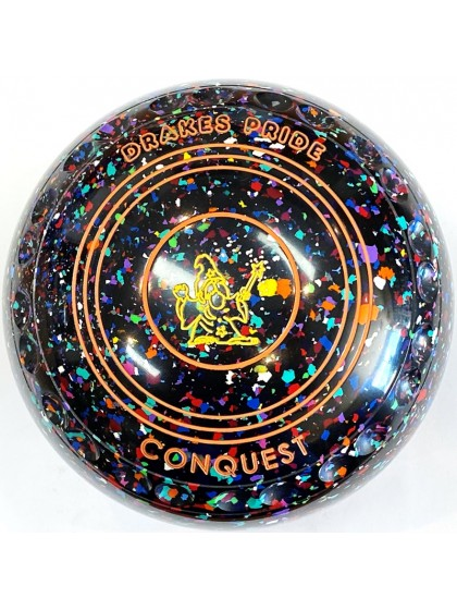 CONQUEST SIZE 4H GRIP BLACK HARLEQUIN S4 1327