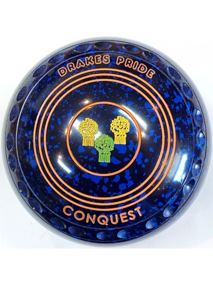 CONQUEST SIZE 3H GRIP BLUE SPECKLED S7 0774