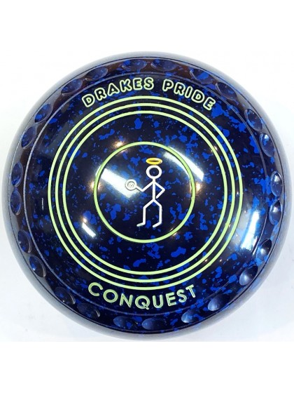 CONQUEST SIZE 3H GRIP BLUE SPECKLED S8 0774