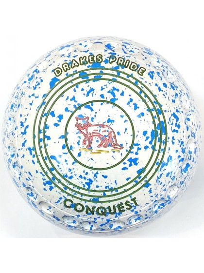 CONQUEST SIZE 3H GRIP WHITE SKY BLUE T1 1874