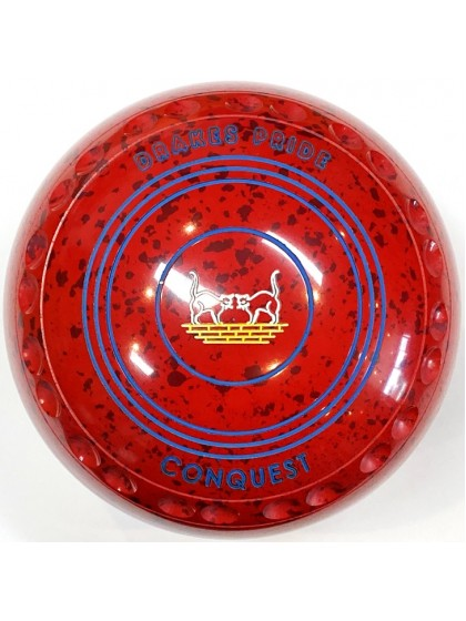 CONQUEST SIZE 5H GRIP RED MAROON T2 1876