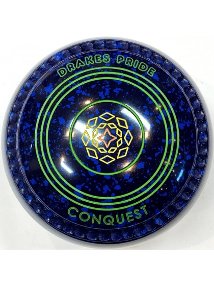 CONQUEST SIZE 3H GRIP BLUE SPECKLED T2 2619 Featuring CHANNEL GRIP