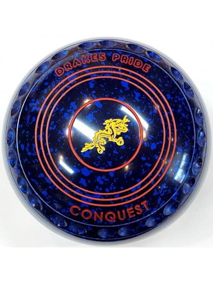 CONQUEST SIZE 4H GRIP BLUE SPECKLED T4 1875