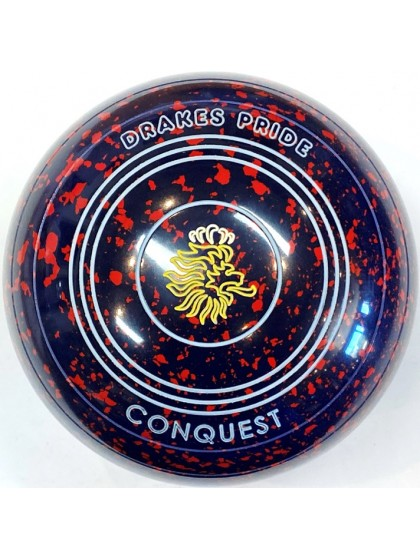 CONQUEST SIZE 3H PLAIN DARK BLUE RED T4 2385
