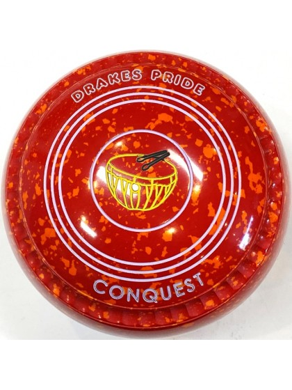 CONQUEST SIZE 3H GRIP RED ORANGE T4 3248 Featuring CHANNEL GRIP