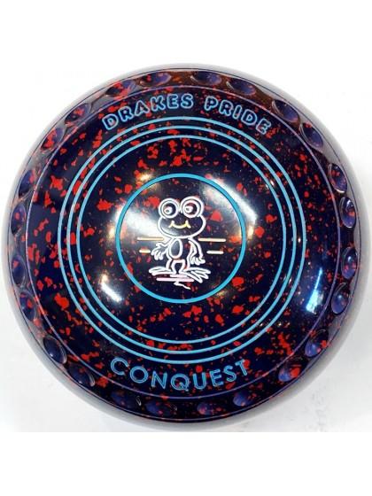 CONQUEST SIZE 4H GRIP DARK BLUE RED T4 3249