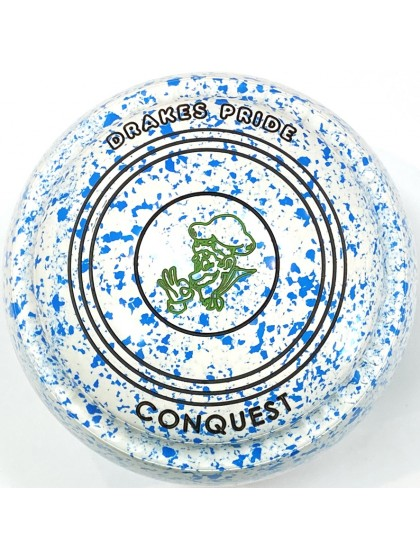 CONQUEST SIZE 3H GRIP WHITE SKY BLUE T5 1747 Featuring CHANNEL GRIP