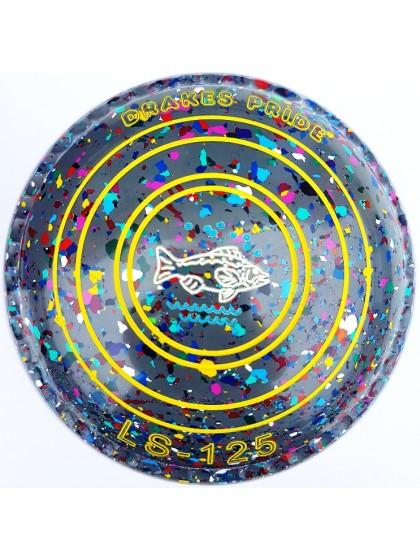 LS-125 SIZE 4H GRIP GREY HARLEQUIN M2 8614