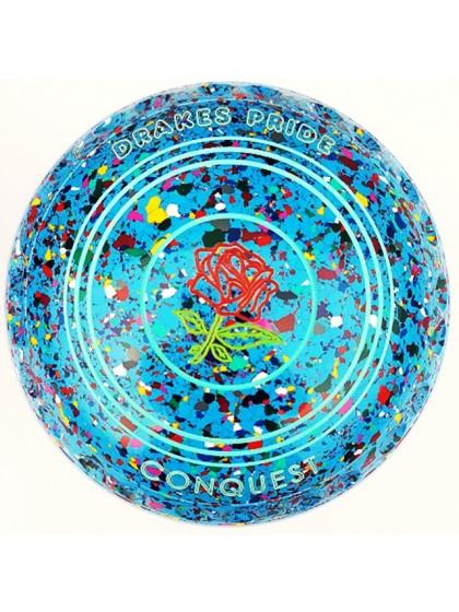 CONQUEST SIZE 4H GRIP SKY BLUE HARLEQUIN M4 8632