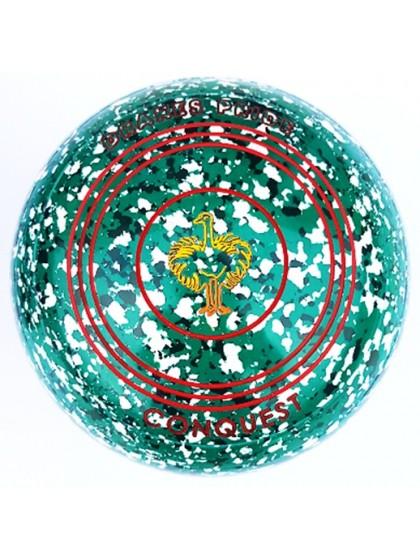 CONQUEST SIZE 3H PLAIN GREEN GREEN WHITE M3 8627