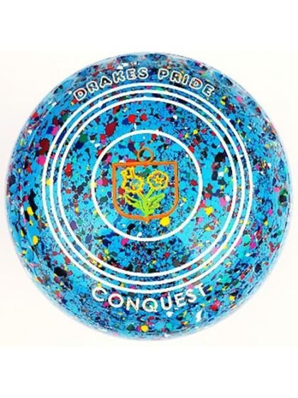 CONQUEST SIZE 1H GRIP SKY BLUE HARLEQUIN M1 8631