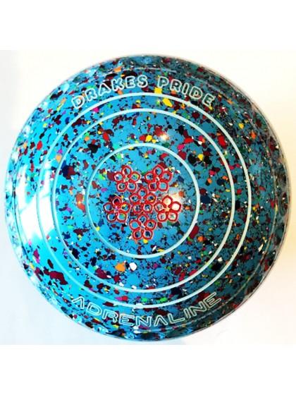 ADRENALINE SIZE 4H GRIP SKY BLUE HARLEQUIN M3 7778