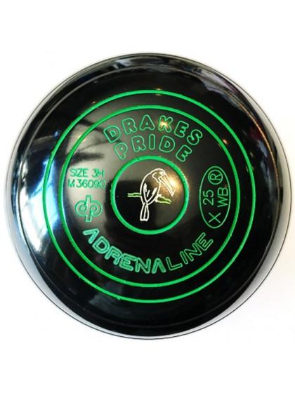 ADRENALINE SIZE 3H PLAIN BLACK M3 6090