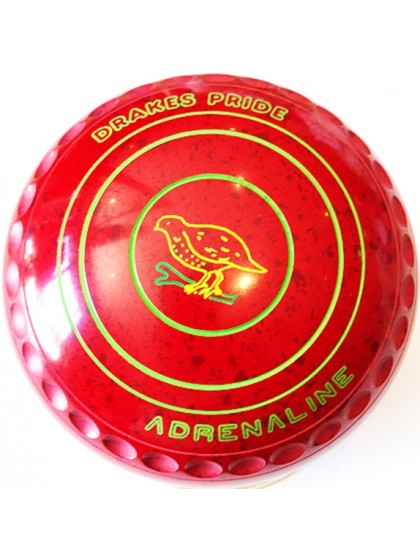 ADRENALINE SIZE 1H GRIP RED MAROON L8 5039