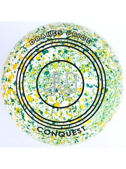 CONQUEST SIZE 3H GRIP WHITE YELLOW GREEN M5 8626