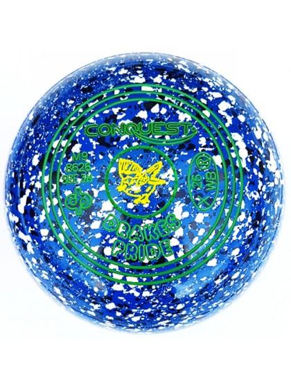 CONQUEST SIZE 3H PLAIN BLUE BLUE WHITE M9 8626