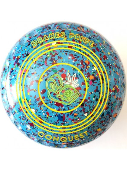 CONQUEST SIZE 4H GRIP SKY BLUE HARLEQUIN M4 7773