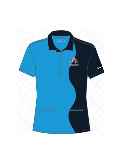 WOMEN'S BOWLS NSW OFFICIAL COACHING SHORT SLEEVE POLO