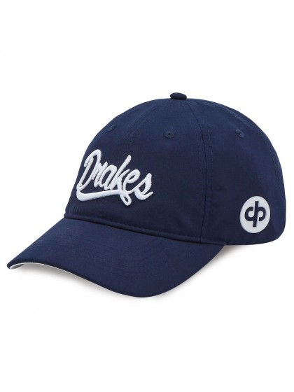 DRAKES PRIDE SIGNATURE LAWN BOWLS CAP NAVY/WHITE