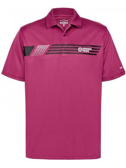 DRAKES PRIDE SPORTE LEISURE MENS RICE LAWN BOWLS POLO