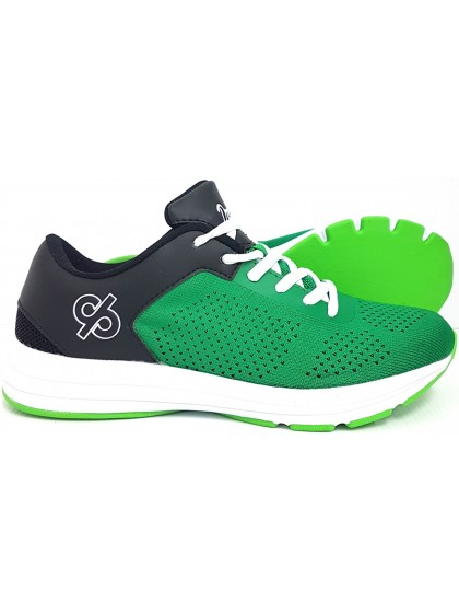 DRAKES PRIDE ASTRO LAWN BOWLS SHOES - GREEN/BLACK