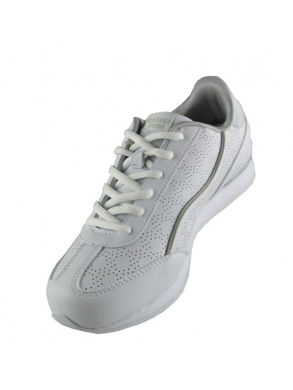 DRAKES PRIDE COSMIC LADIES BOWLS SHOE - SILVER TRIM