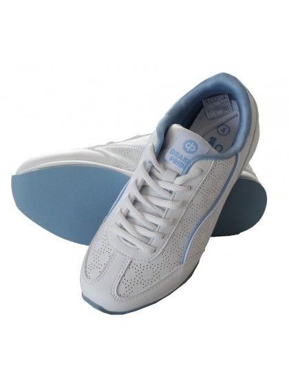 DRAKES PRIDE COSMIC LADIES BOWLS SHOE - BLUE TRIM