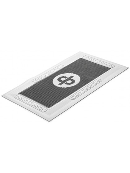 DRAKES PRIDE REGULATION FOOTMATS BLACK & WHITE - TEMPORARILY OUT OF STOCK