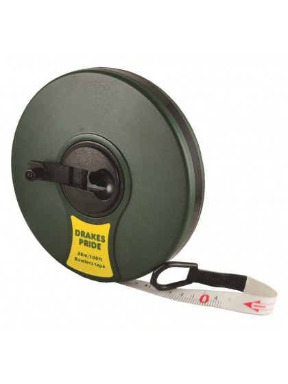 DRAKES PRIDE 100' FIBRE MEASURING TAPE