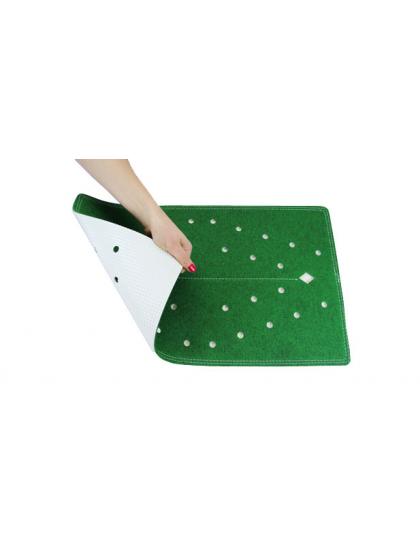 GREEN MASTER LAWN BOWLS FOOT MAT