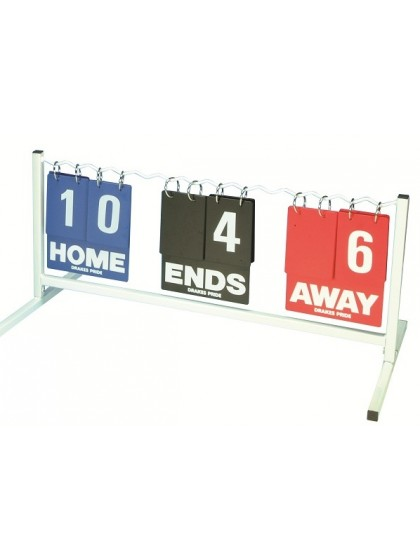 SCOREBOARD - DOUBLE SIDED HORIZONTAL