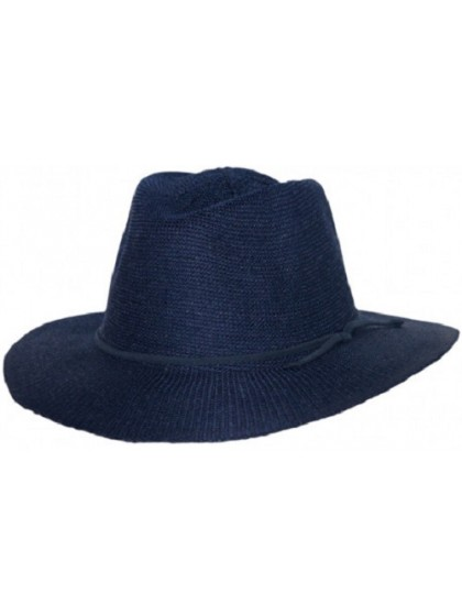 LADIES NAVY BROAD BRIM CANCER COUNCIL HAT - TEMPORARILY OUT OF STOCK
