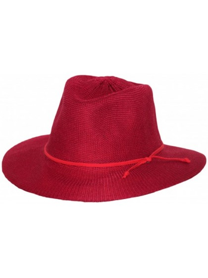 LADIES POPPY RED BROAD BRIM CANCER COUNCIL HAT - TEMPORARILY OUT OF STOCK