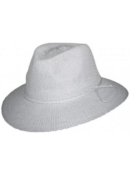 LADIES WHITE BROAD BRIM CANCER COUNCIL HAT