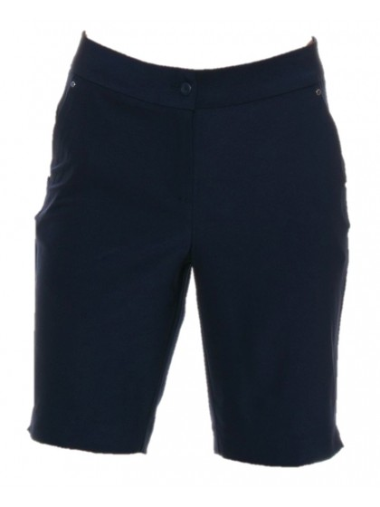 GREG NORMAN ML75 MICROLUX NAVY WOMENS LAWN BOWLS SHORTS