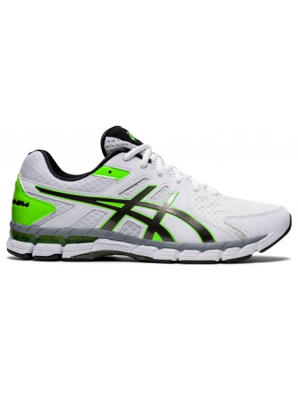 ASICS GEL-RINK SCORCHER 4 (4E) MENS BOWLS SHOES WHITE/GUNMETAL - AVAILABLE LATE AUGUST 2021