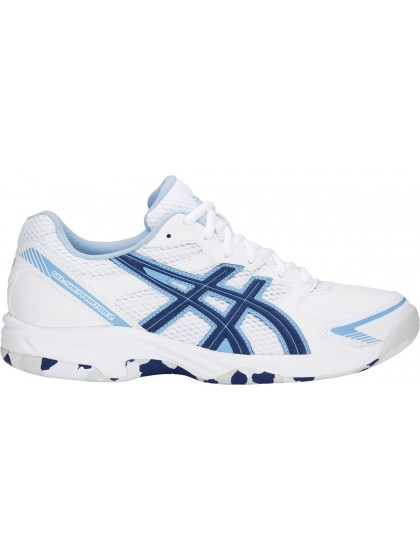 ASICS GEL-SHEPPARTON 2 WOMENS LAWN BOWLS SHOES WHITE/BLUE PRINT