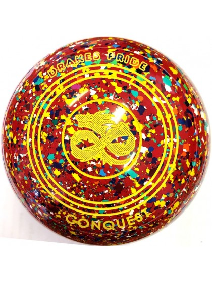 CONQUEST SIZE 4H PLAIN RED HARLEQUIN P3 2351